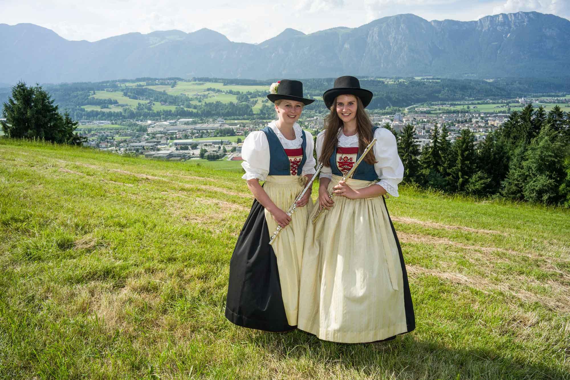 Querflöte: Sabrina Gwiggner, Sandra Rauscher