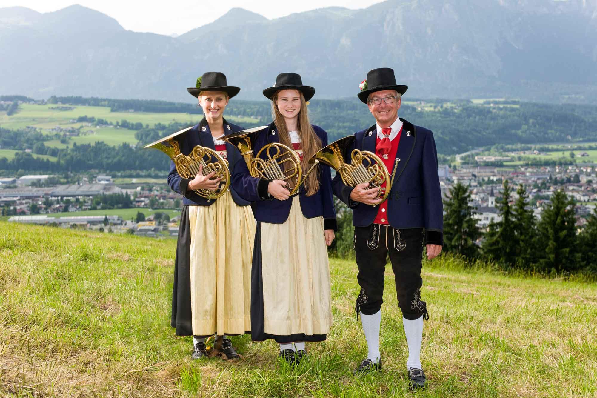 Horn: Susanna Ebner, Madita Flörl, Roland Schaufler