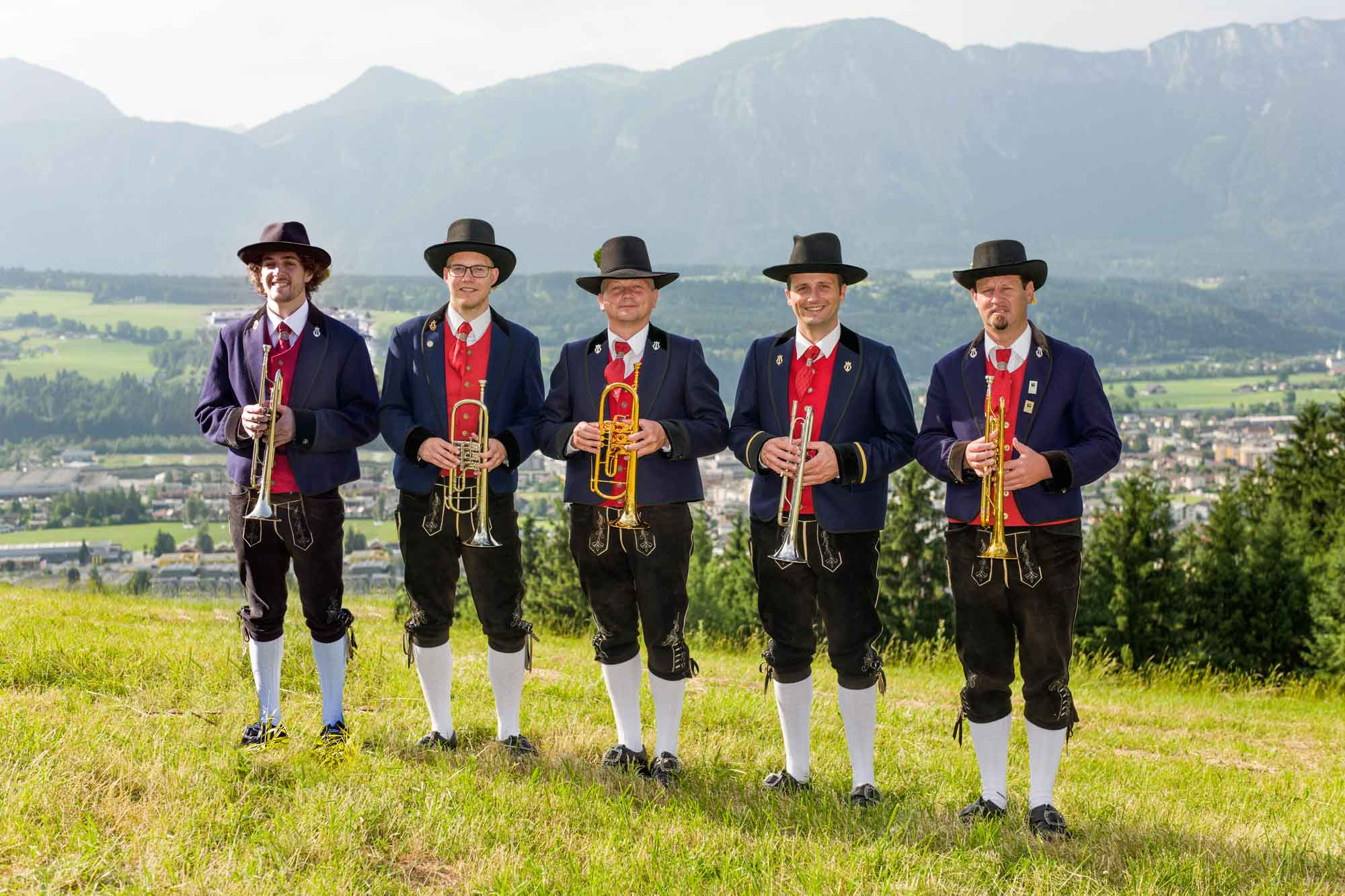 Trompete: Michael Stocker, Christoph Kaindl, Jakob Unterberger, Klaus Unterberger, Robert Silberberger